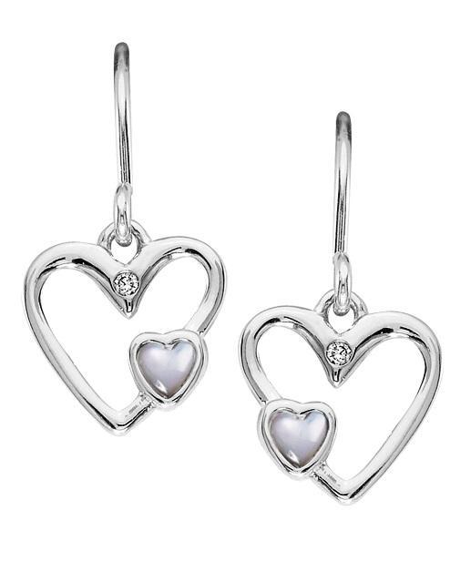 Silver Diamond Earring  / SER3004