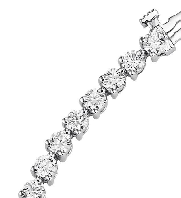 *Diamond Bracelet 3ctw/B370 AW5ID