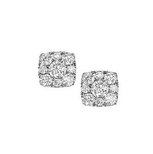 1/4 ctw Diamond Earrings in 14K White Gold  : FE1150AW