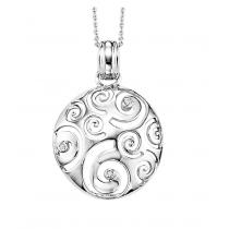 Silver Diamond Pendant / SPD2039