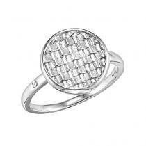 Silver Diamond Ring / SRG1021