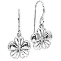 Silver Diamond Earrings / SER2044