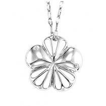Silver Diamond Pendant / SPD2044