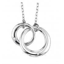 Silver Diamond Pendant / SPD1026