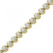 5 ctw Diamond Bracelet. / B276C-5CT