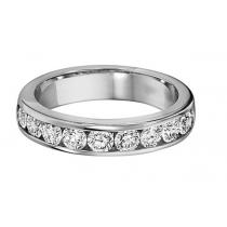 1/2 ctw Diamond Band in 14K White Gold/DA12B
