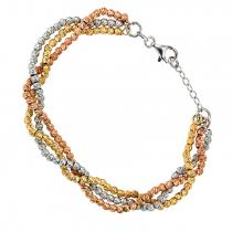Silver Multi Color Bracelet / FB1035