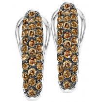 Silver Diamond Earring 1ctw/FE1196