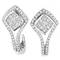 14K Diamond Earrings 1/2 ctw/FE4114