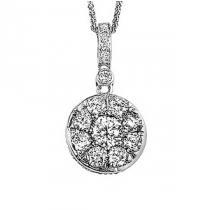 *Diamond Pendant 1/2 ctw/FP1071ID