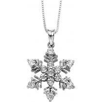 Silver  Diamond Pendant / FP1151