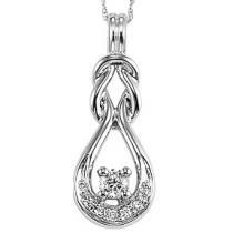 Gold Diamond Pendant/FP4049