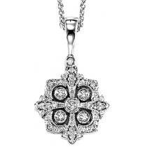 Gold Diamond Pendant/FP4050