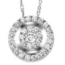 Diamond Pendant 1/3 ctw:FP4098