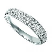 Gold and Diamond Band 1/2 ctw : FR1357AW