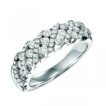 Gold and Diamond Band 1 ctw : FR1377