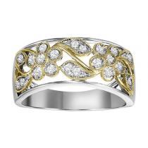 Gold Diamond Band 1/3 ctw/FR1404