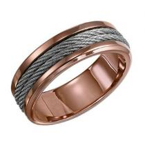 Men's Ring in Stainless Steel/TS1008