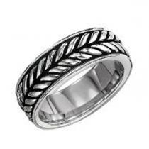 Men's Ring in Stainless Steel/TS1027