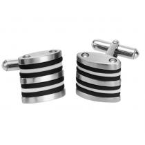 Men's Cuff Links in Stainless Steel / TS1037