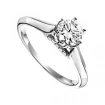 Diamond Engagement Ring in 14K White Gold/WB5738E