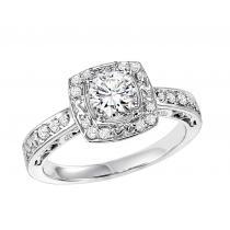 14K White Gold 1/4 ctw Diamond Ring/WB5817E