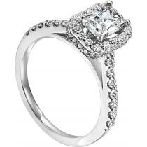 14K White Gold 3/4 ctw Diamond Ring :WB5879E-Semi