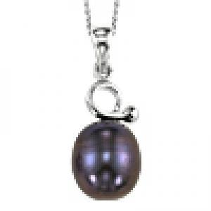 Silver F/W Pearl Pendant/009PB
