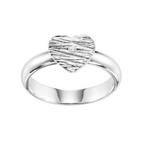 Silver Diamond Ring / SRG3006