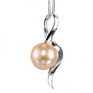 Freshwater Pearl Pendant in Sterling Silver / 133PP