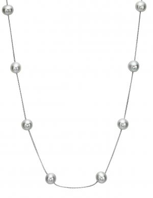 Silver F/W Pearl Necklace/1435NW