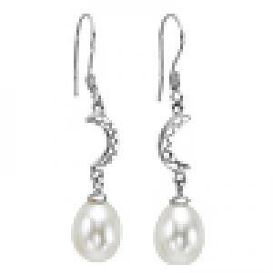 Silver F/W Pearl Earrings/158E01W
