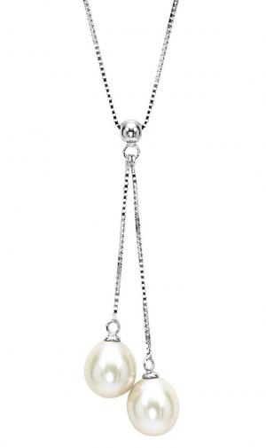 Silver F/W Pearl Necklace/1740NA03W