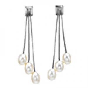 Silver F/W Pearl Earrings /228E01W