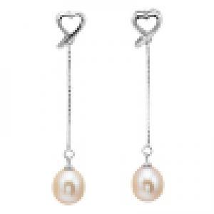 Silver F/W Pearl Earrings/363E03P