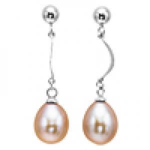 Silver F/W Pearl Earrings/412E03P