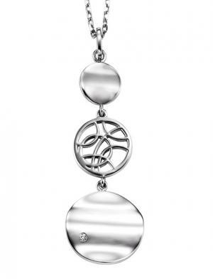 Silver Diamond Pendant / SPD1001