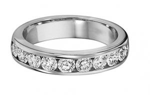 1/4 ctw Diamond Band in 14K White Gold/HDR1484LW