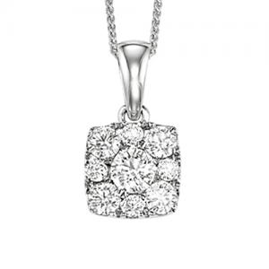 Gold Diamond Pendant 1ctw/FP1165AW