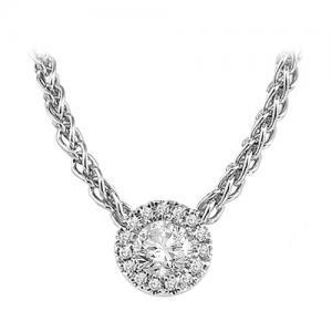 Silver Diamond Mixable Pendant 1/3 ctw / SFP1225