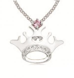 Princess Tiara Collection Silver Pendant : FP4106