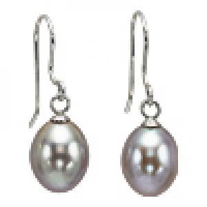 Silver F/W Pearl Earrings/NP001840P