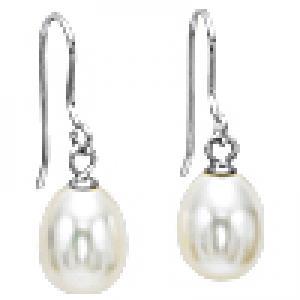 Silver F/W Pearl Earrings/NP001840W