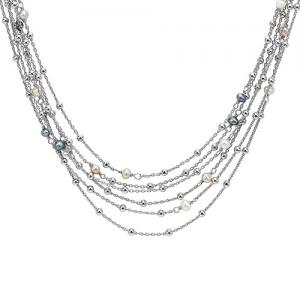 Multi Strand Pearl necklace / NP3177