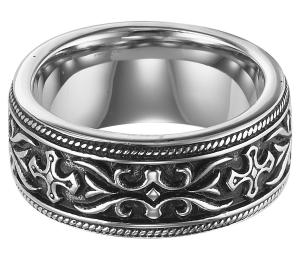 Men's Ring in Stainless Steel/TS1042