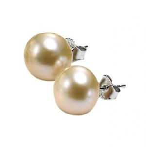 Silver F/W Pearl Earrings/FPPS10.5